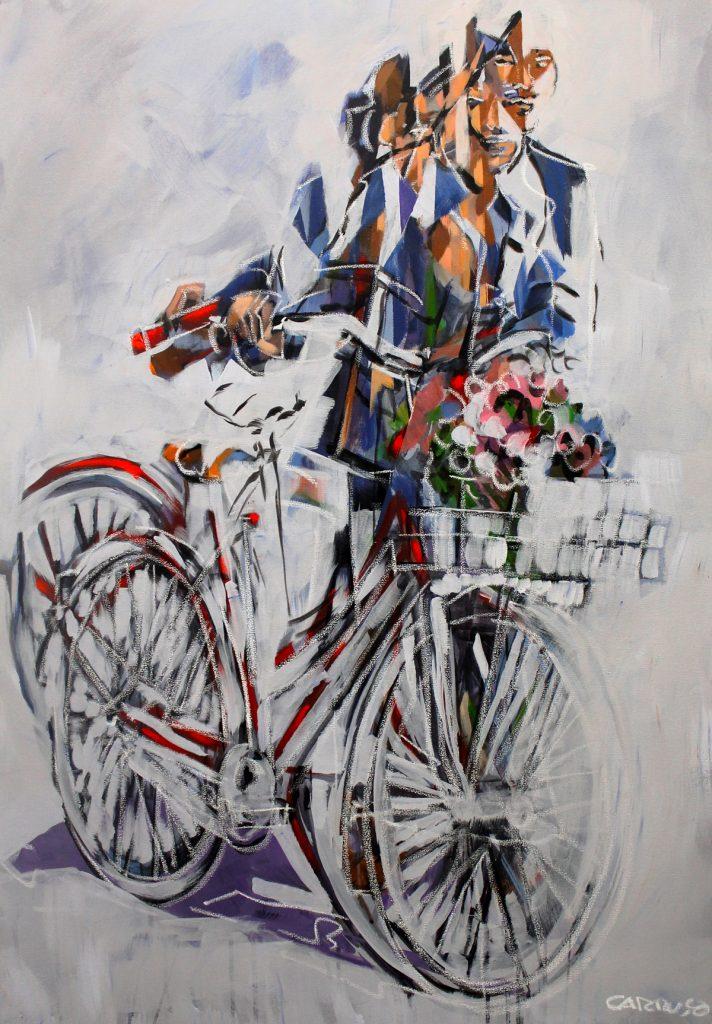 Galeria Pintura Artista Plastico Rui Carruco 2020 Bicicleta-do-Amor-Love-Bicycle