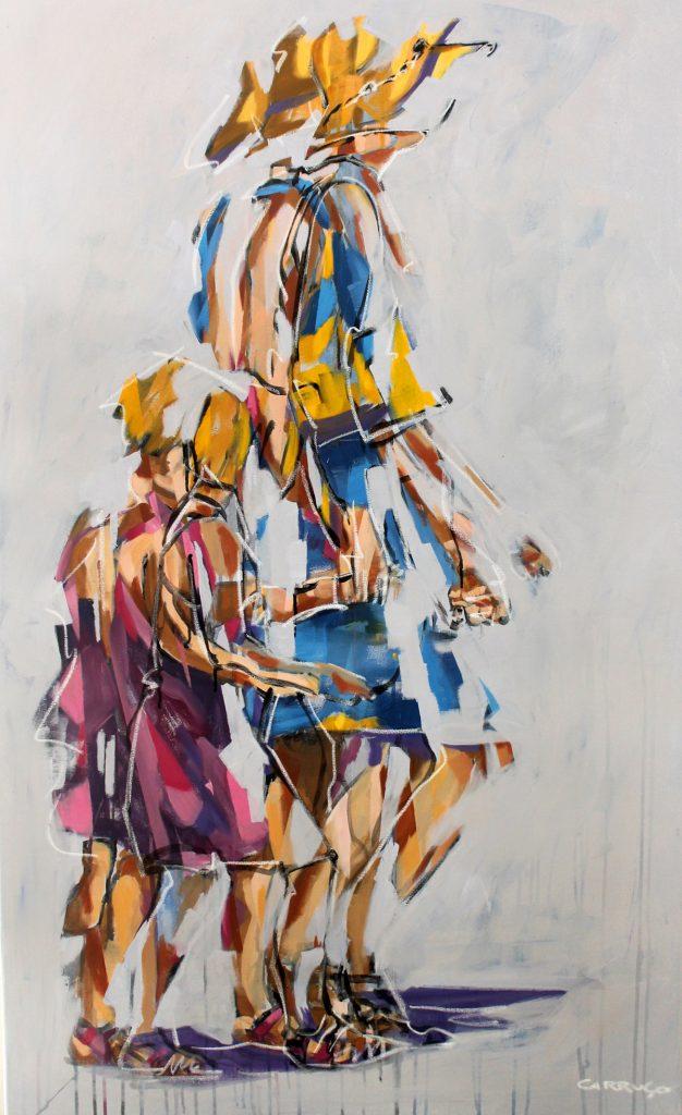 Galeria Pintura Artista Plastico Rui Carruco 2020 Maos-dadas-Holding-hands
