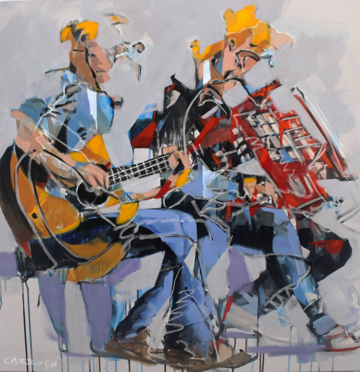 Galeria Pintura Artista Plastico Rui Carruco 2020 Ritmos-Rhythms